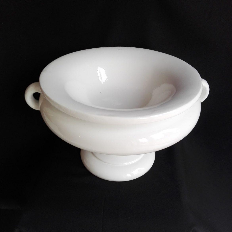 biała waza