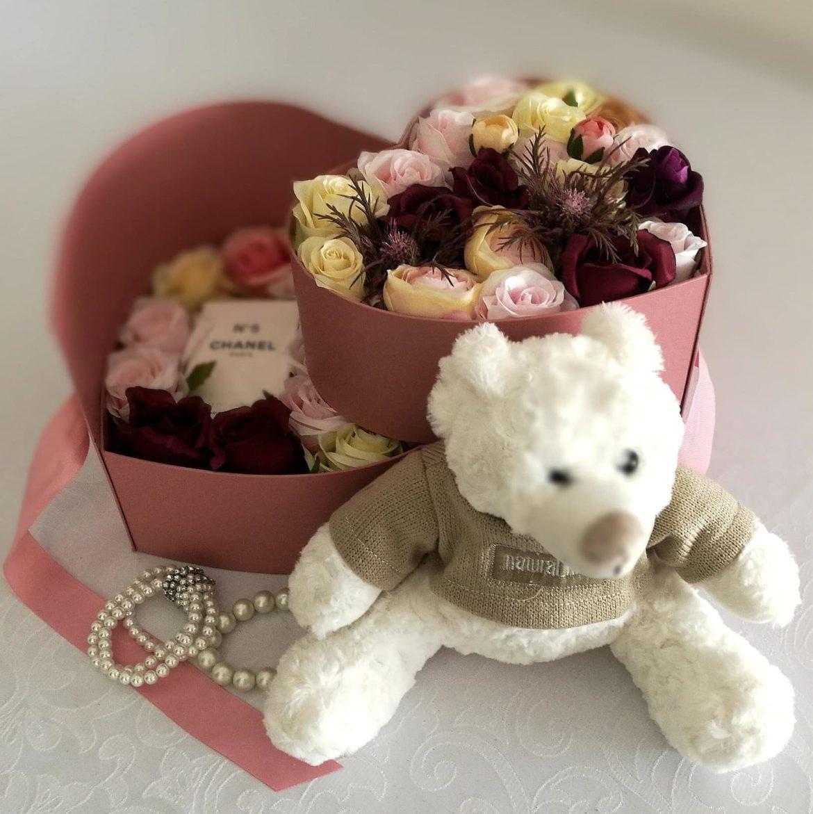 Flower box z Chanel 5