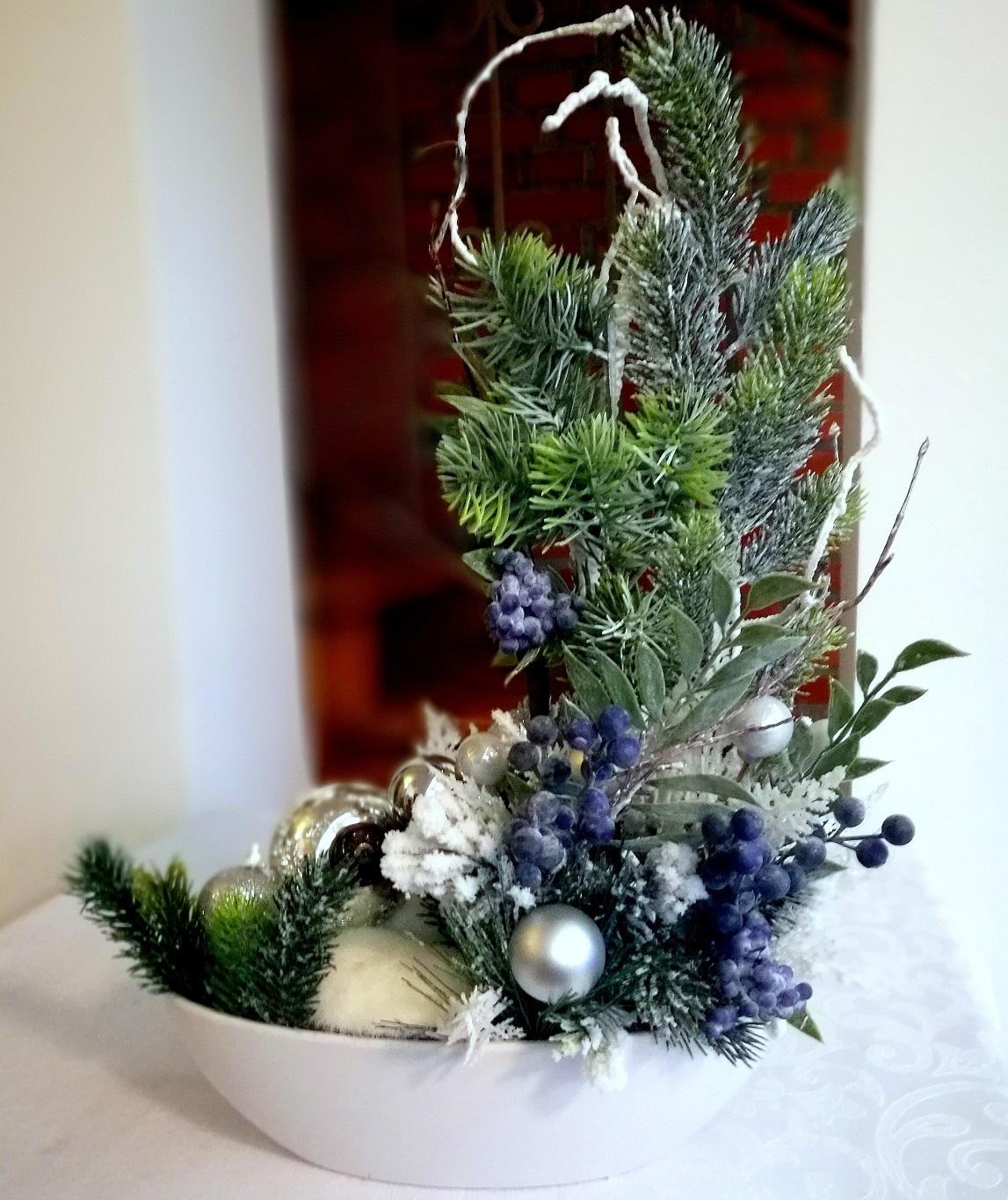 Dekoracja zimowo-świąteczna nr. 120