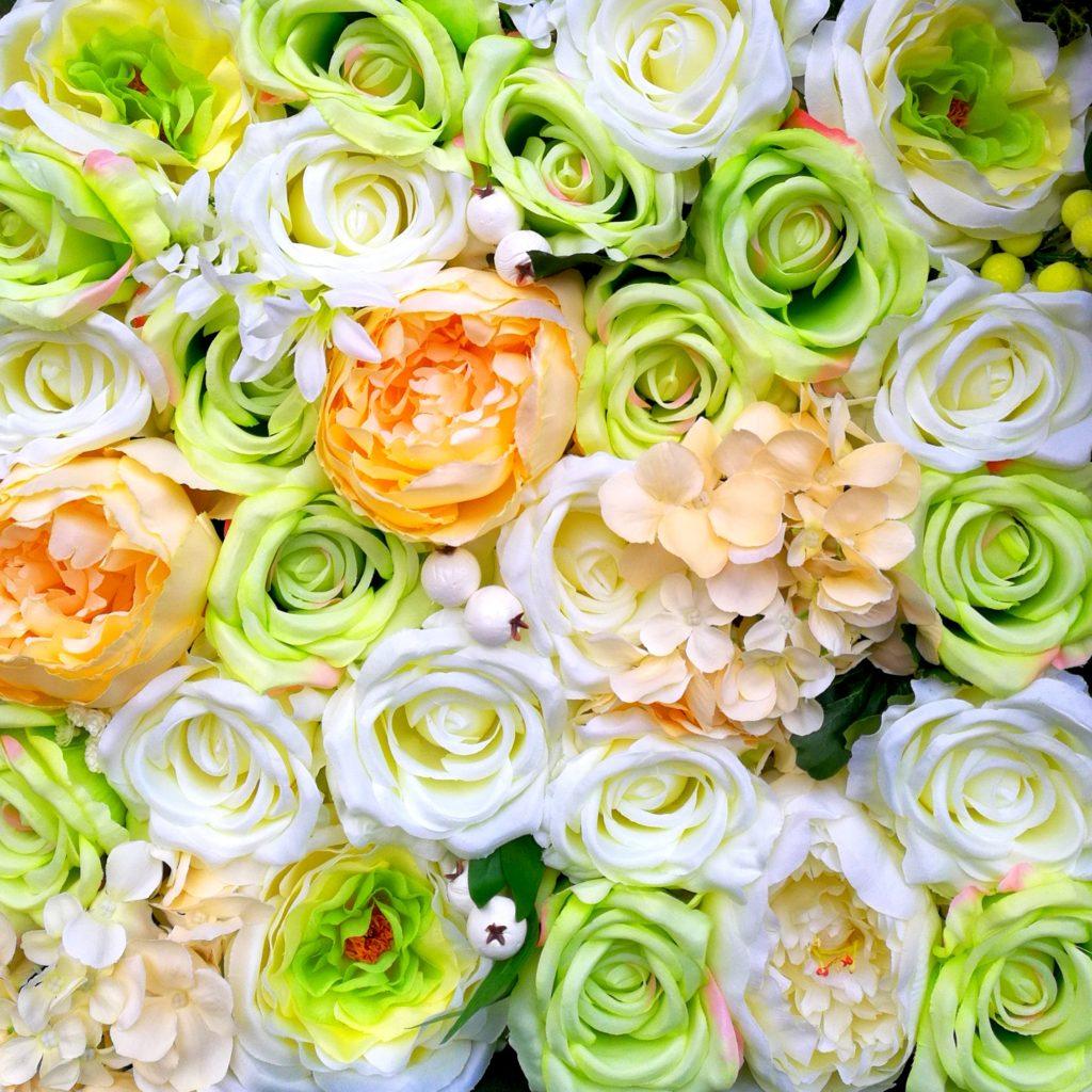 Ściana kwiatowa Kolory Wiosny