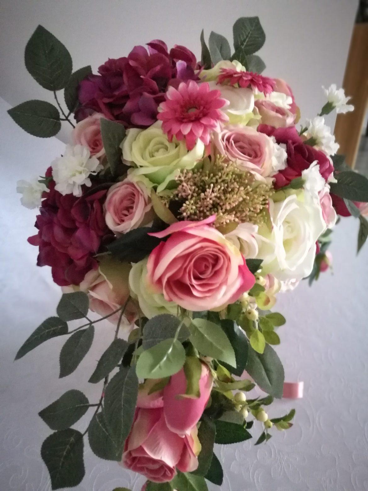 Flower box w odcieniach różu nr. 146
