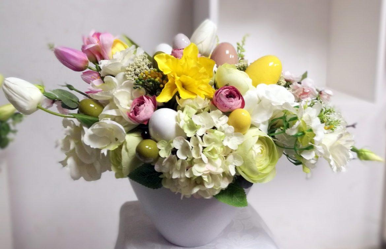 Wielkanocny stroik Wiosenna radość nr. 172