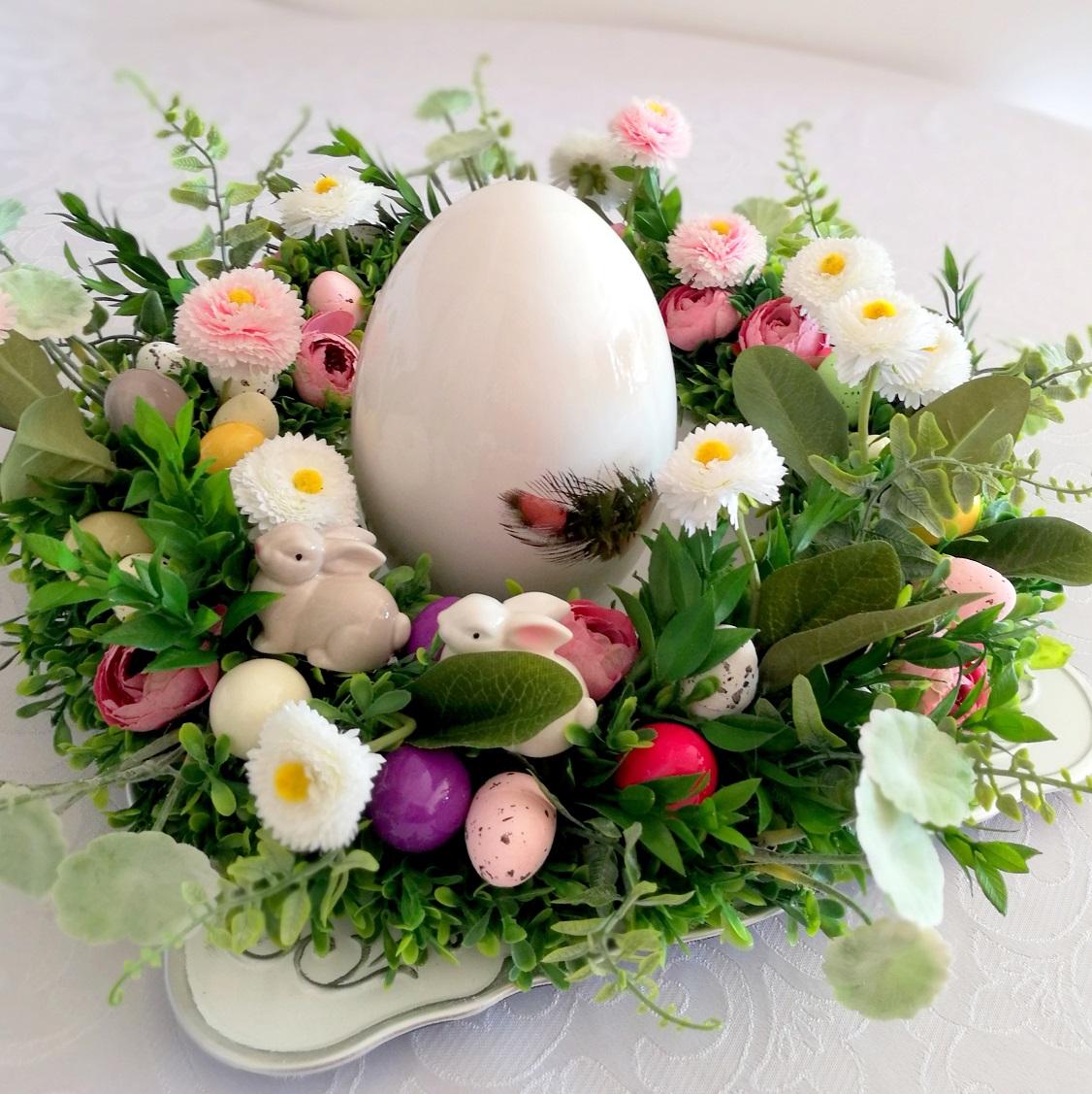 Wielkanocny wianek Kwietna łąka nr. 75