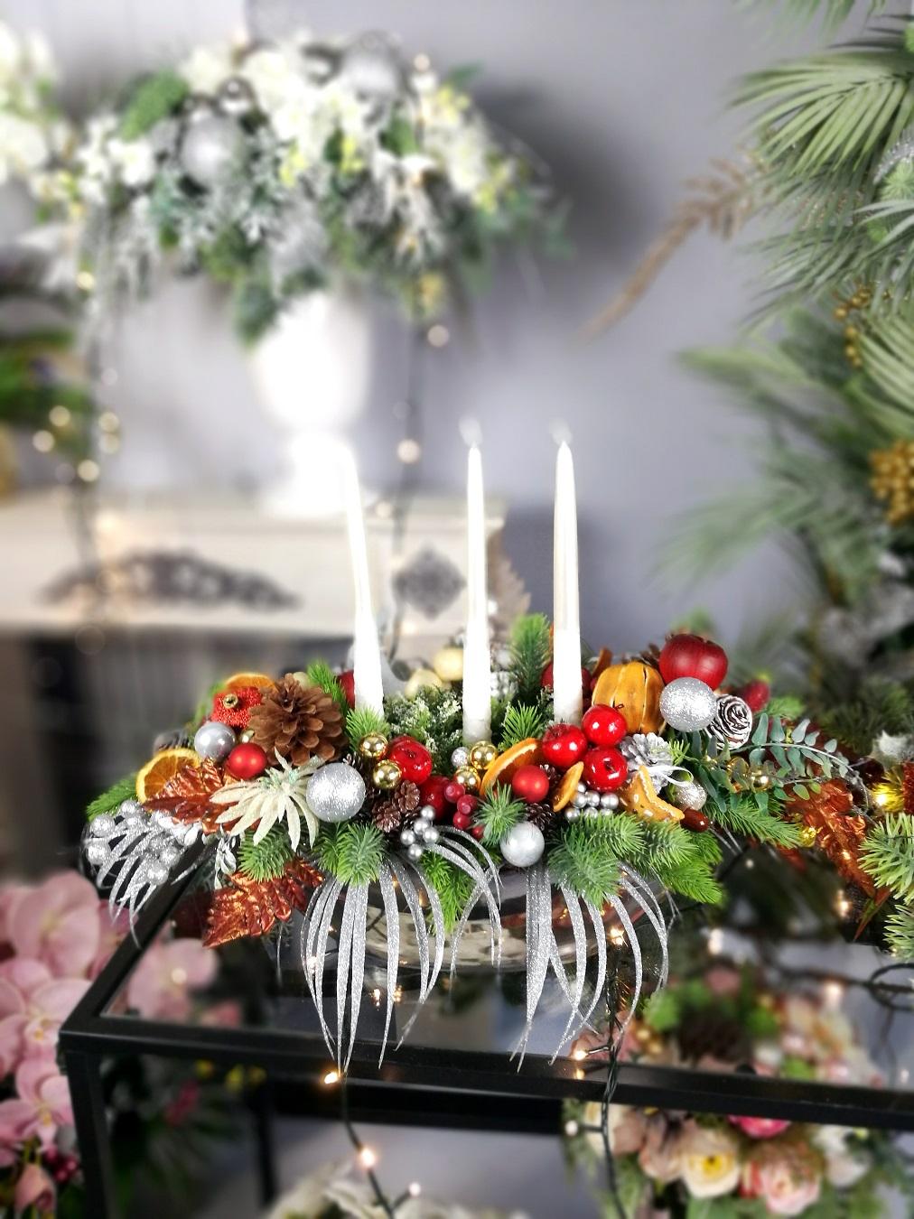 Świąteczny stroik Wyjątkowa noc nr 255