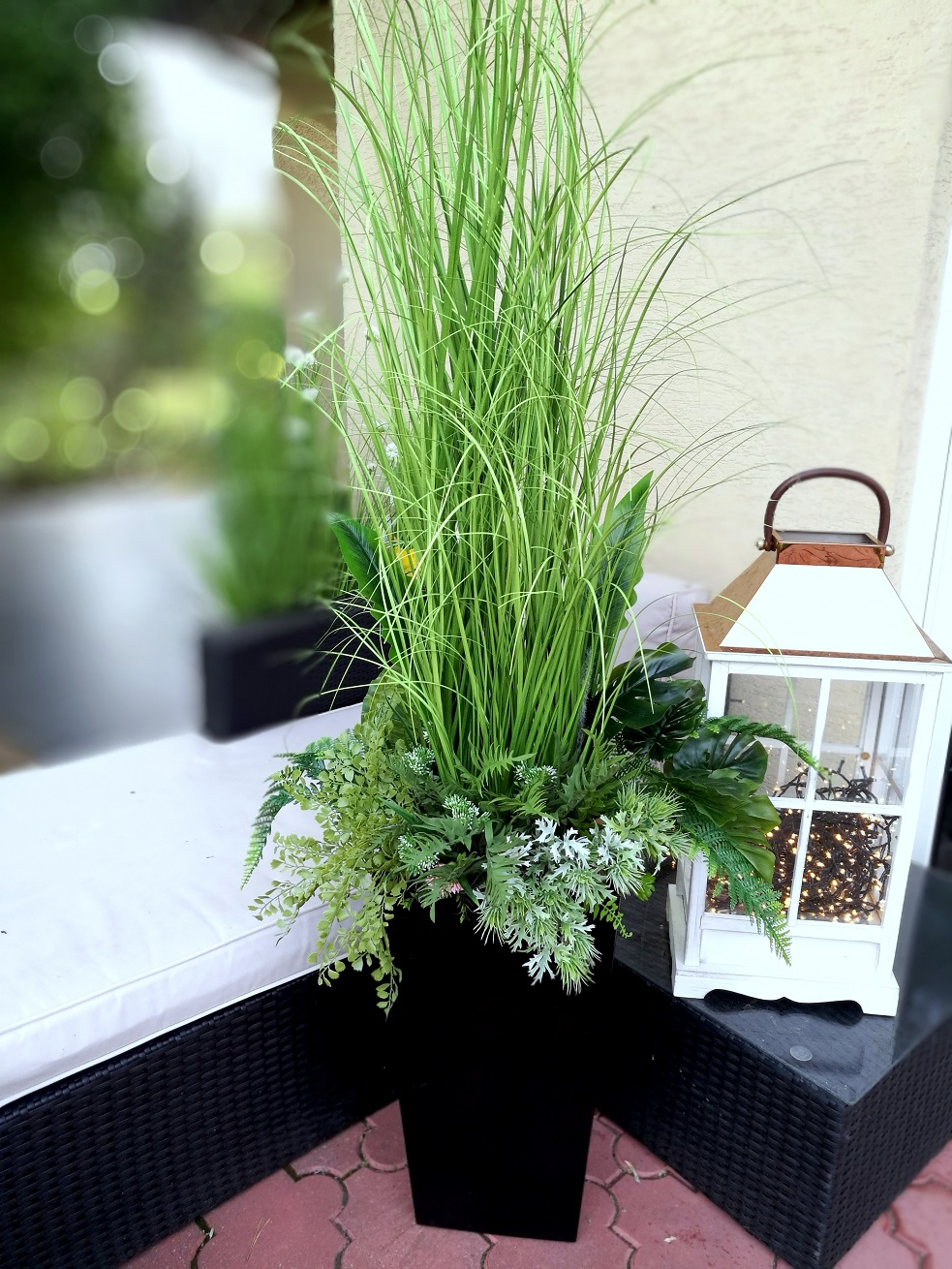 Kompozycja trawa i zioła nr 330