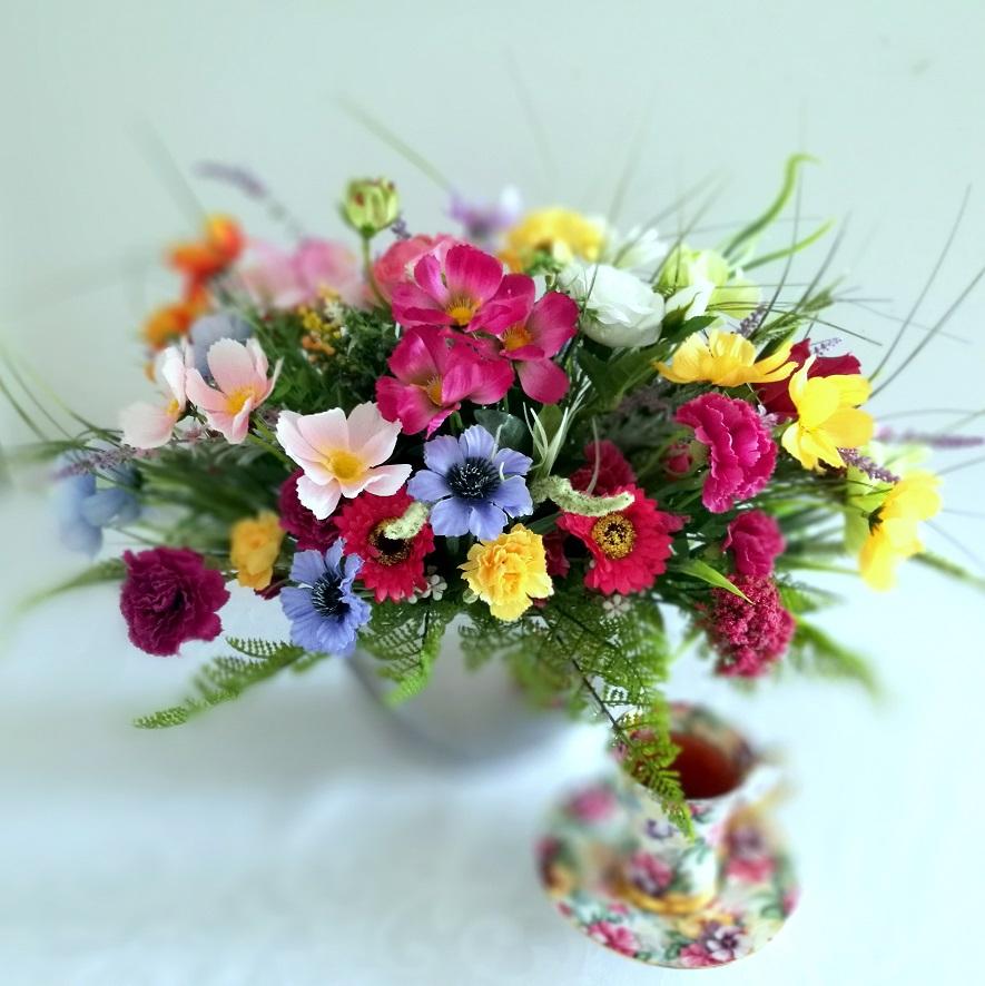 Kompozycja kwiatowa Letni ogród nr 344