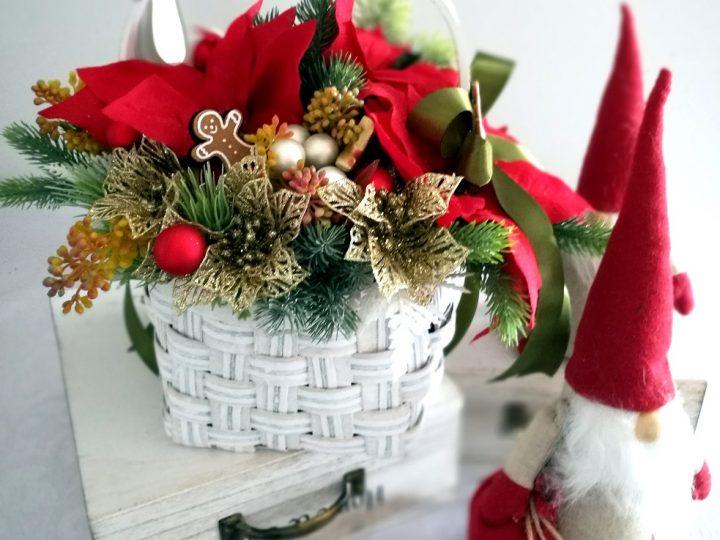 Stroiki bożonarodzeniowe z gwiazdą betlejemską do Twojego domu