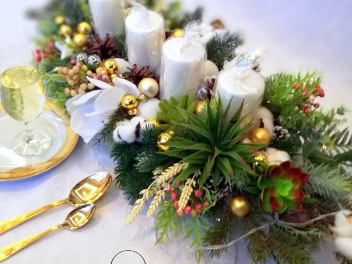 Ozdoby świąteczne ze świecami, czyli klimatyczne święta
