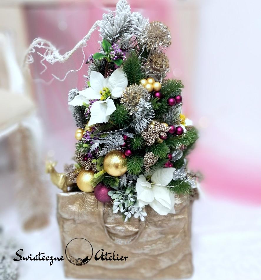 Dekoracja świąteczna Słodkie chwile nr 381