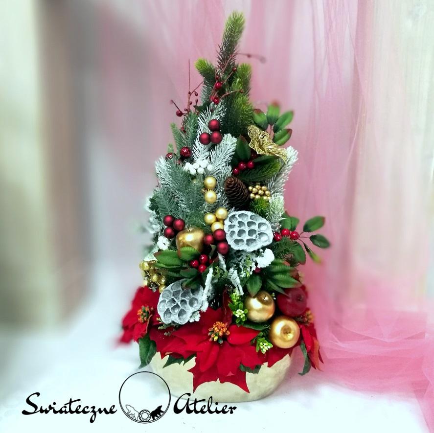 Stroik świąteczny Wigilijny poranek nr 383