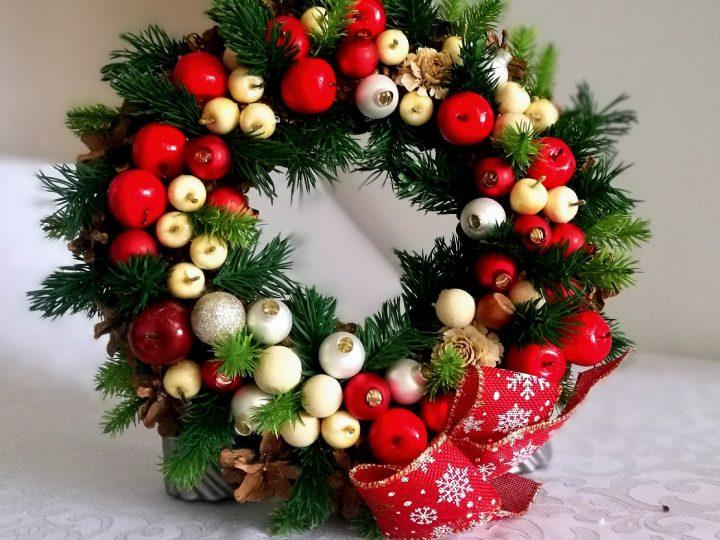 Wianki świąteczne na Boże Narodzenie