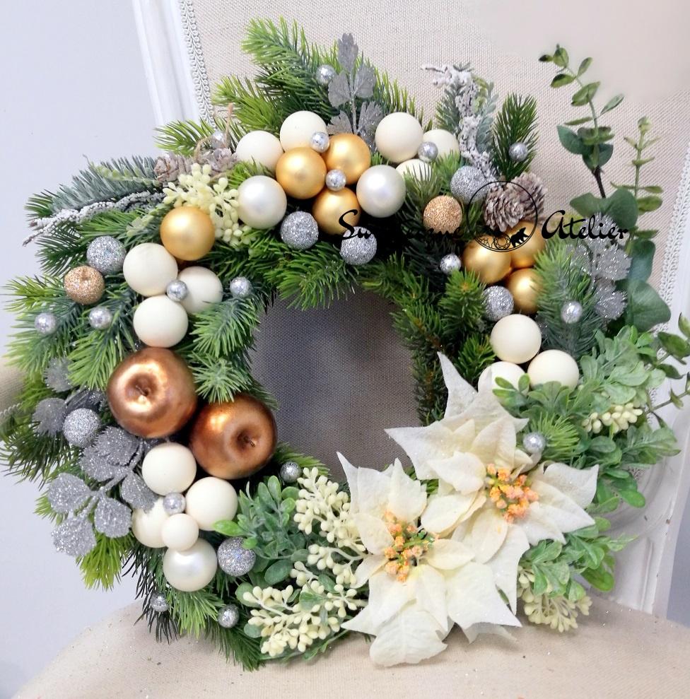 Świąteczny wianek Zimowa uroczystość nr 148