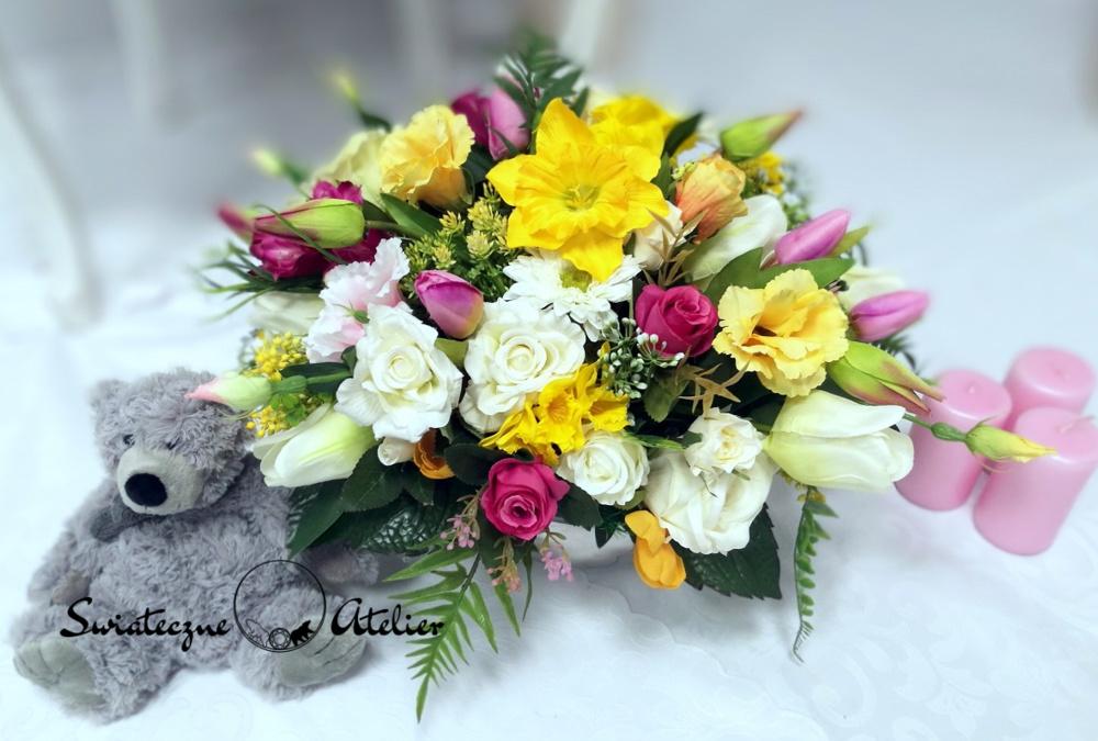 Kompozycja kwiatowa Kolory wiosny nr 411
