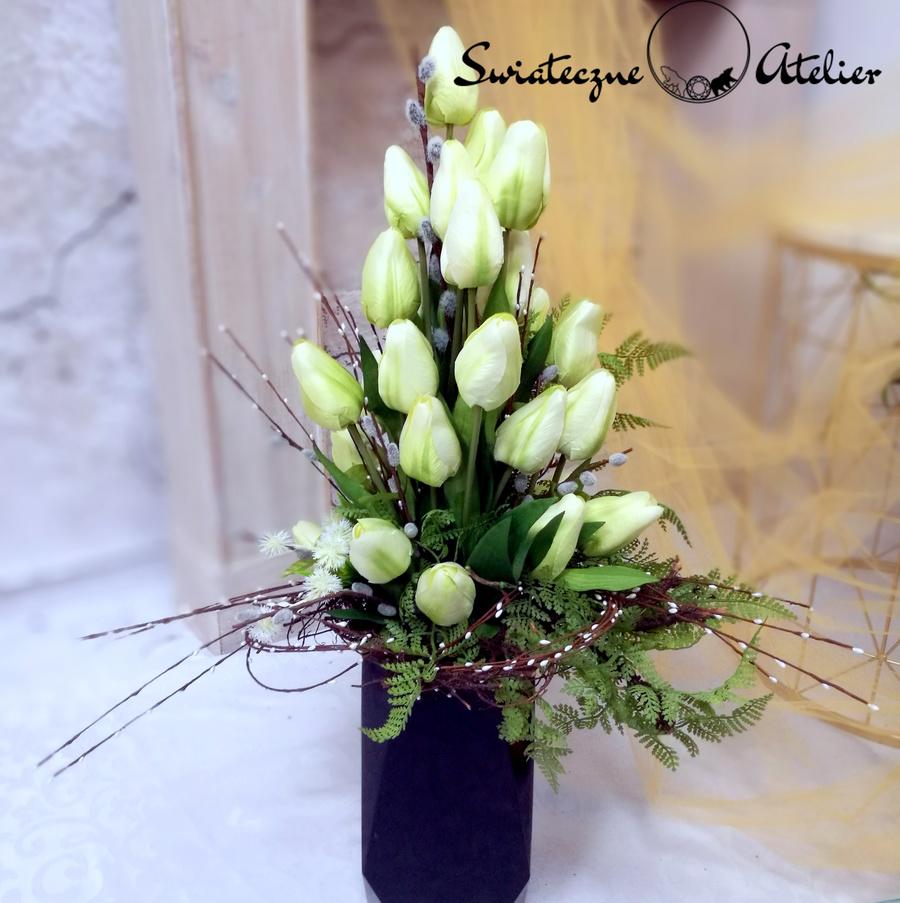Bukiet na cmentarz Wiosenne tulipany nr 447
