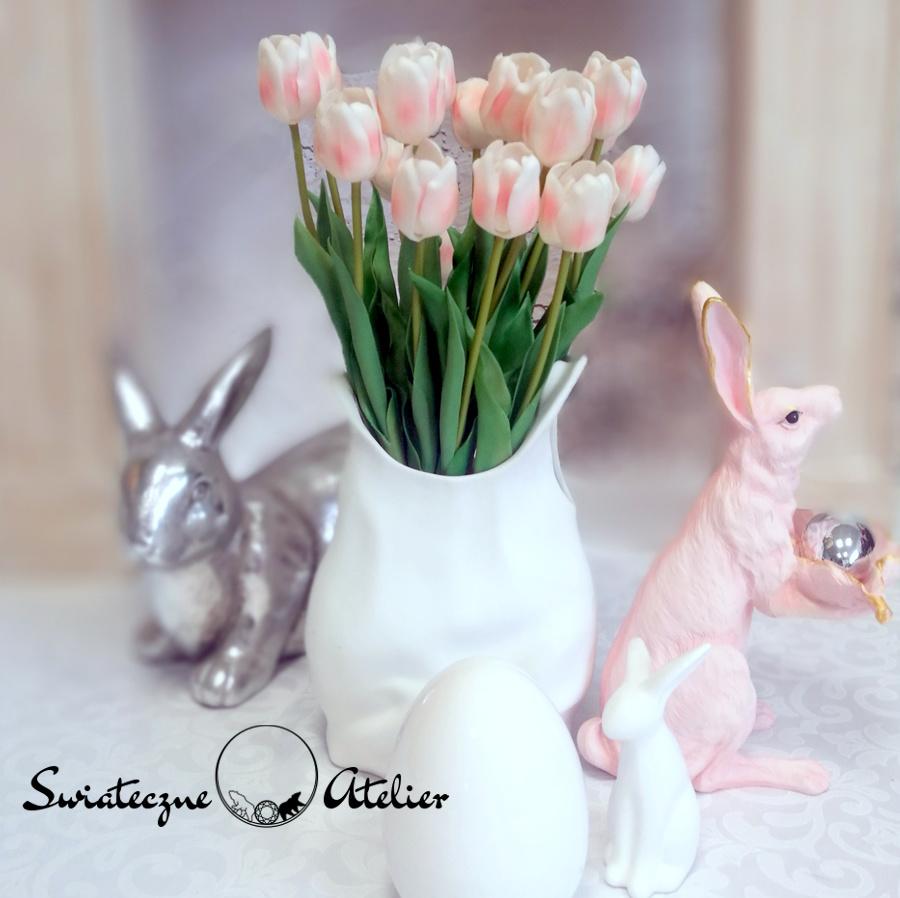 Tulipany w białej torebce nr 461