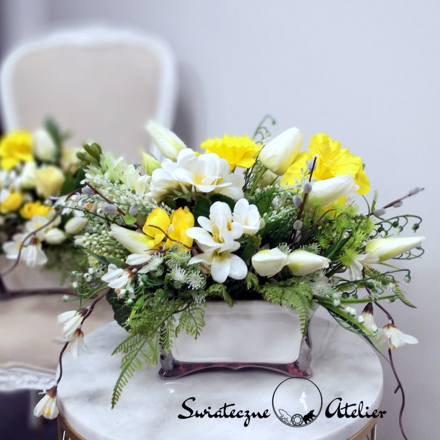 Wiosenna kompozycja kwiatowa nr 464