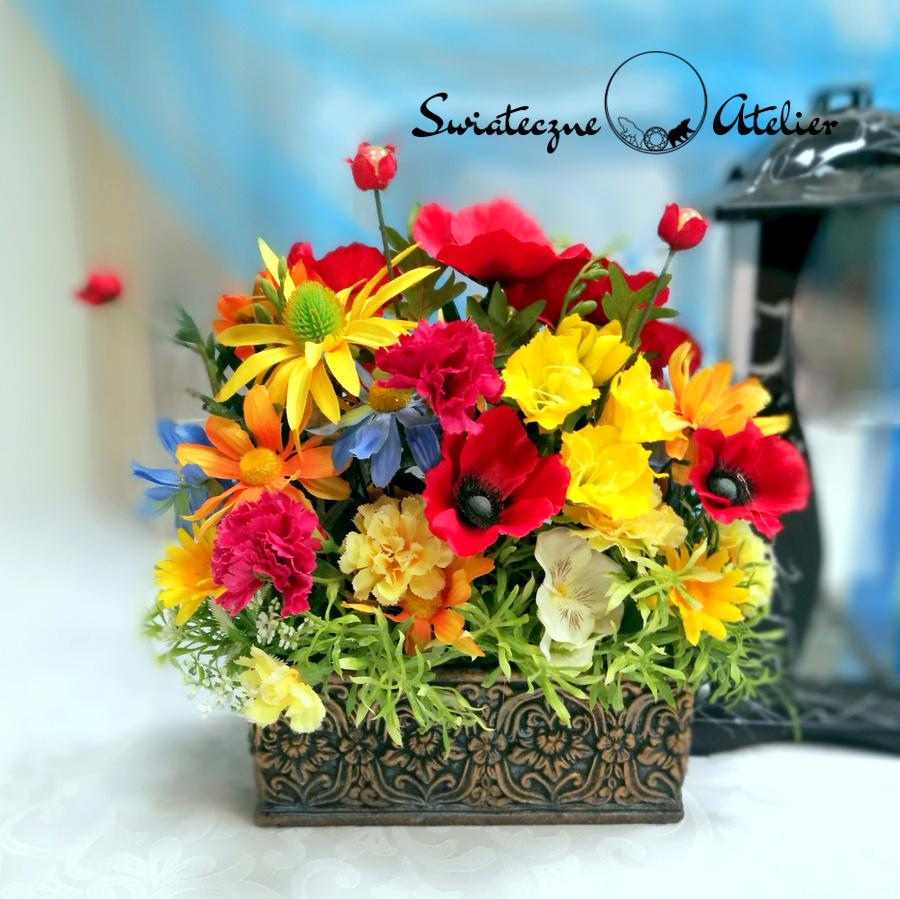 Strok kwiatowy Lipiec nr 458