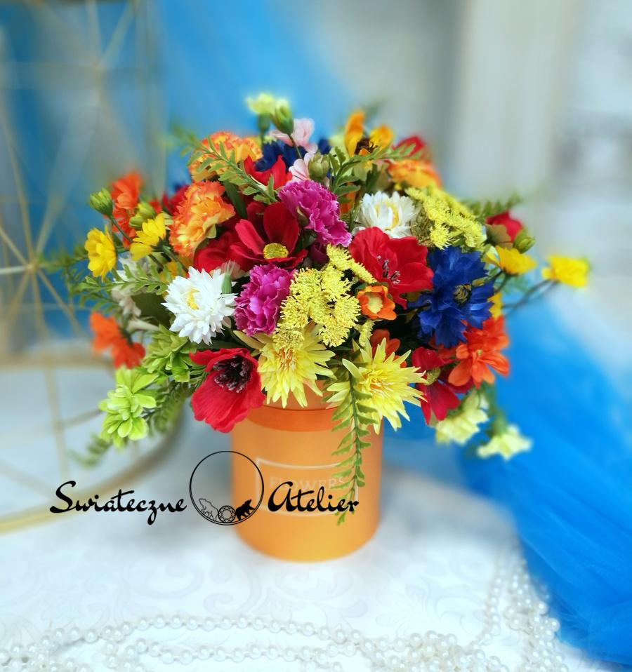 Flower box kwiatowy Lipiec nr 481