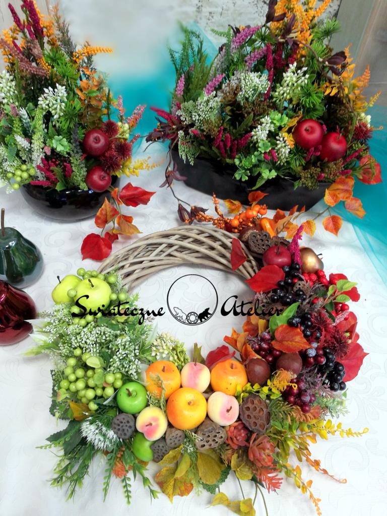 Wianek Cudowna jesień nr 181