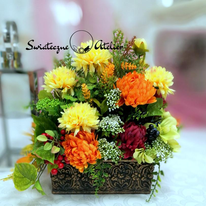 Strok kwiatowy Jesienne klimaty nr 569